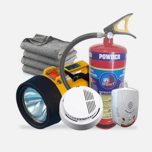 Home Safety Kit For A 3-BHK House